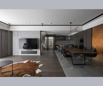 120平米公寓法式风格餐厅图