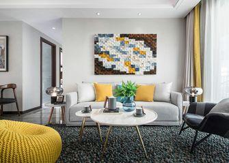 120平米三室一厅宜家风格客厅图