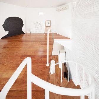 110平米三室两厅欧式风格阁楼设计图
