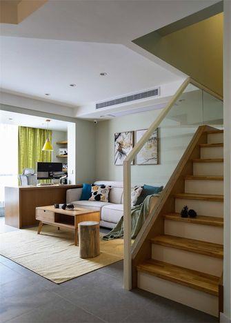 10-15万90平米复式日式风格楼梯欣赏图