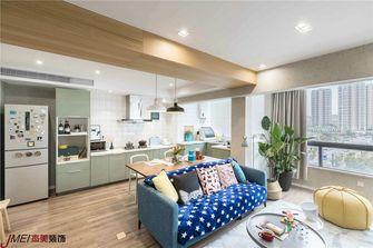 90平米复式日式风格厨房图片大全