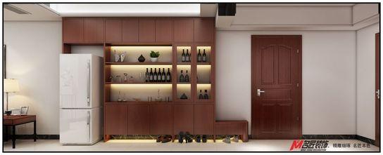 120平米三室两厅英伦风格玄关装修效果图