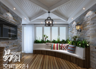 10-15万140平米复式美式风格阁楼设计图