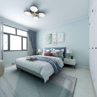 90平米三室三厅北欧风格卧室欣赏图