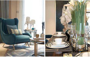 富裕型130平米三室两厅新古典风格阳光房装修图片大全