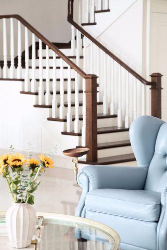 140平米三室一厅美式风格楼梯间装修图片大全