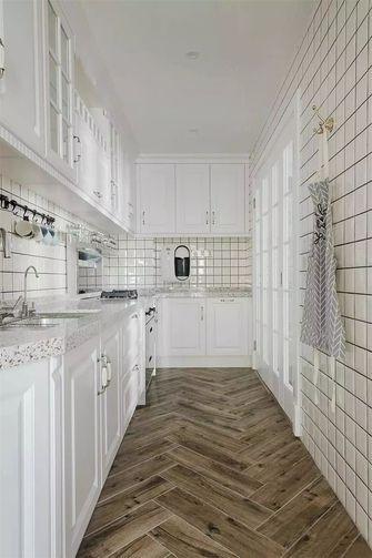 130平米三美式风格厨房装修效果图