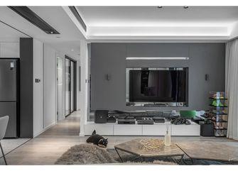 80平米一室一厅现代简约风格客厅欣赏图