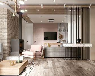 110平米三室一厅宜家风格客厅图片
