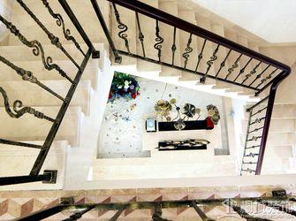 富裕型140平米三室两厅地中海风格楼梯装修案例