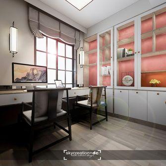 140平米四室两厅中式风格书房装修效果图