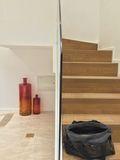 经济型140平米四室两厅现代简约风格楼梯图片