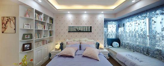 140平米三室四厅现代简约风格卧室设计图