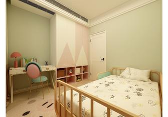 120平米三室一厅北欧风格儿童房装修效果图