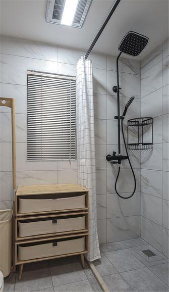 70平米一室一厅日式风格卫生间效果图