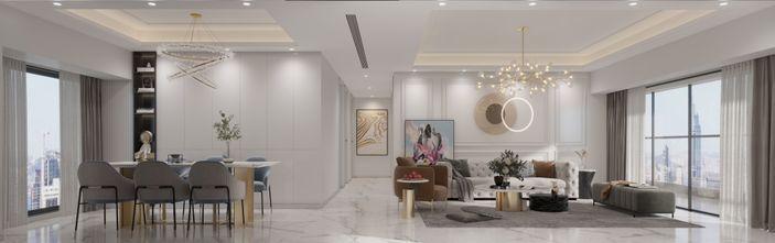 140平米四室四厅法式风格客厅设计图