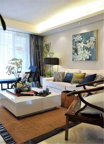 90平米一室一厅中式风格客厅设计图