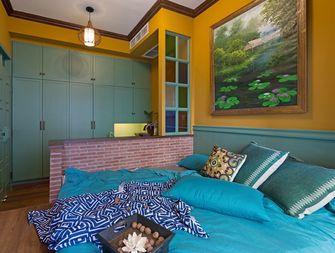 40平米小户型东南亚风格卧室设计图