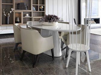 140平米四室一厅现代简约风格餐厅图片大全