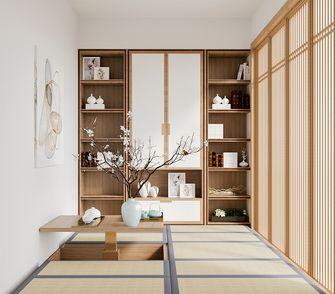 140平米四室两厅日式风格书房图片