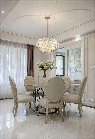 100平米公寓法式风格餐厅图片
