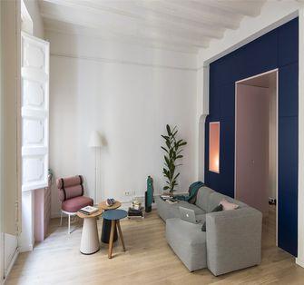 60平米一居室欧式风格客厅图