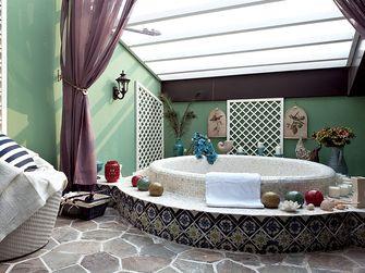 140平米四室一厅地中海风格卫生间设计图
