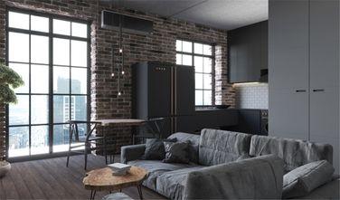 50平米公寓英伦风格客厅装修图片大全