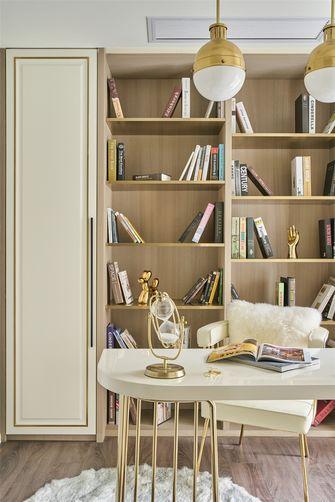 130平米三室两厅法式风格书房图