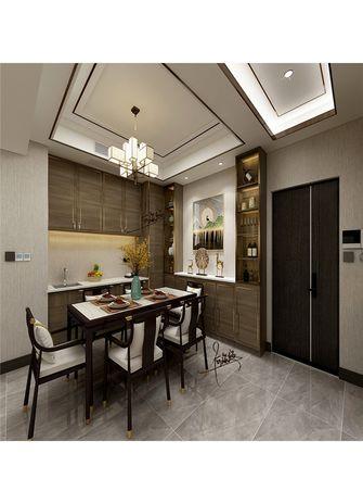 140平米四室一厅中式风格餐厅设计图