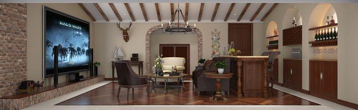 140平米别墅美式风格储藏室效果图