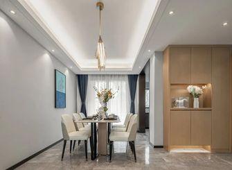 140平米三室一厅中式风格餐厅设计图