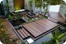 豪华型140平米别墅东南亚风格阳台设计图
