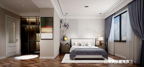 140平米四室三厅欧式风格卧室装修效果图