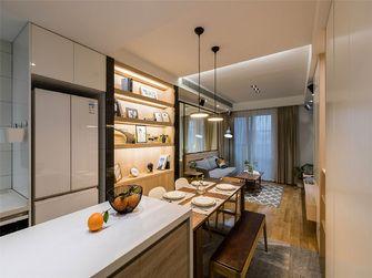 70平米三室一厅宜家风格餐厅图片大全