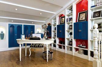 经济型140平米三室两厅地中海风格储藏室装修效果图