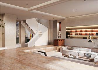 140平米四现代简约风格楼梯间图