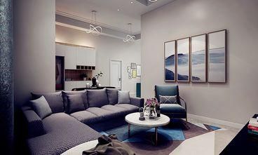 140平米四室五厅混搭风格客厅装修效果图