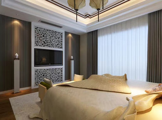 90平米中式风格储藏室装修效果图