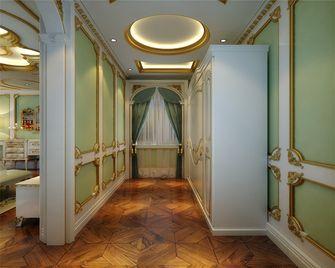 20万以上140平米别墅英伦风格玄关设计图