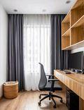 90平米三室两厅宜家风格书房欣赏图