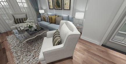 50平米一居室欧式风格客厅图