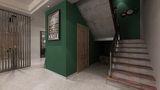 经济型140平米复式北欧风格楼梯设计图
