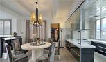富裕型140平米四室两厅现代简约风格餐厅效果图