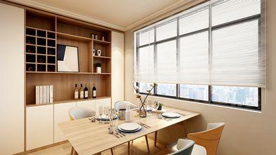 60平米一室两厅日式风格餐厅装修案例