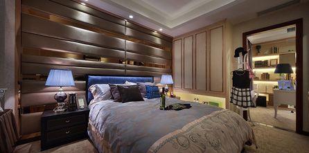 80平米三室两厅现代简约风格卧室背景墙设计图
