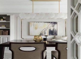 100平米三室两厅美式风格餐厅图片大全