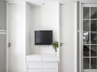 40平米小户型现代简约风格客厅设计图
