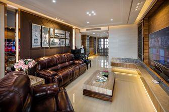 富裕型140平米四室两厅英伦风格客厅欣赏图