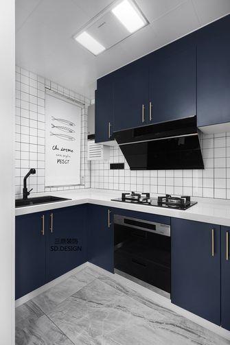 110平米三室两厅北欧风格厨房图片大全